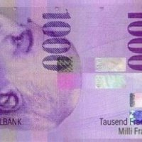 Bancnota de 1000...de franci elvețieni